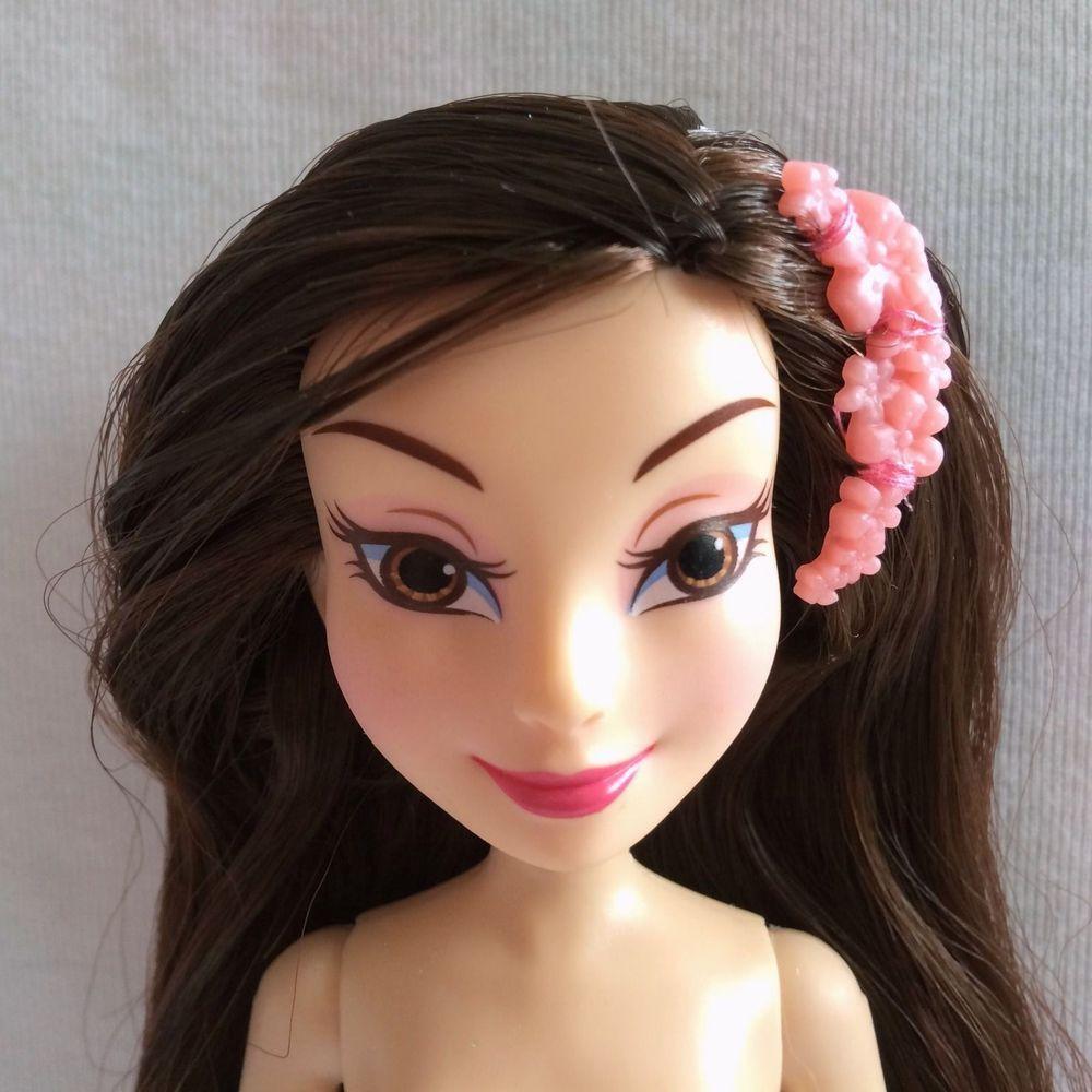 nude disney Disney Descendants Lonnie of Auradon Daughter of Mulan Signature Doll Nude