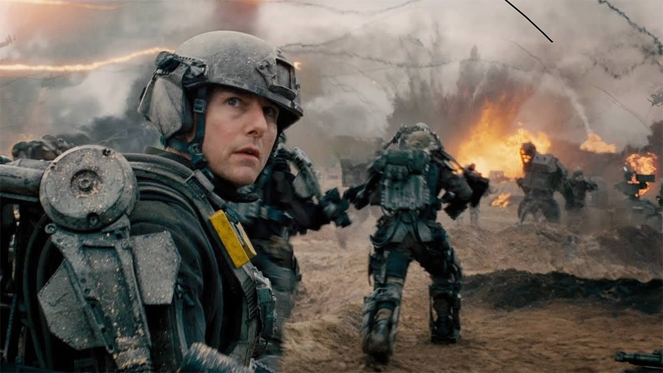 #Spectacular Sports #Movies You (Probably) Haven't Seen #FlicksYouCantMiss #FYCM - Edge of Tomorrow