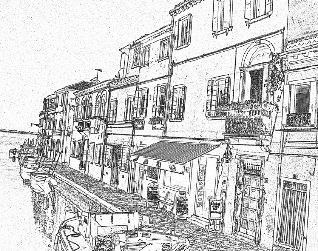 Ausmalbilder Für Erwachsene Landschaften Zum Ausmalen : The Grand Floating City Venice Coloring Pages Letscolorit Com
