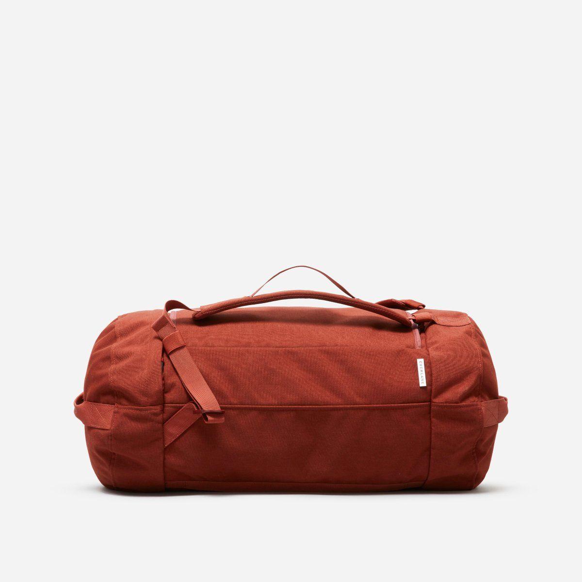 b07ef83ffc3edd Duffel   Backpack Weekender in Brick. Duffel   Backpack Weekender in Brick  Leather Crossbody Bag ...