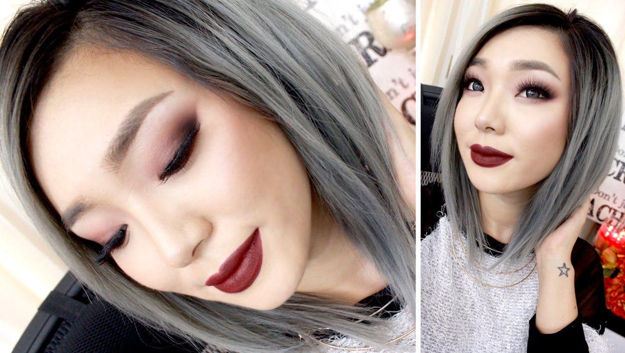 FALL Smokey Eyes & Burgundy Lips FULL FACE tutorial