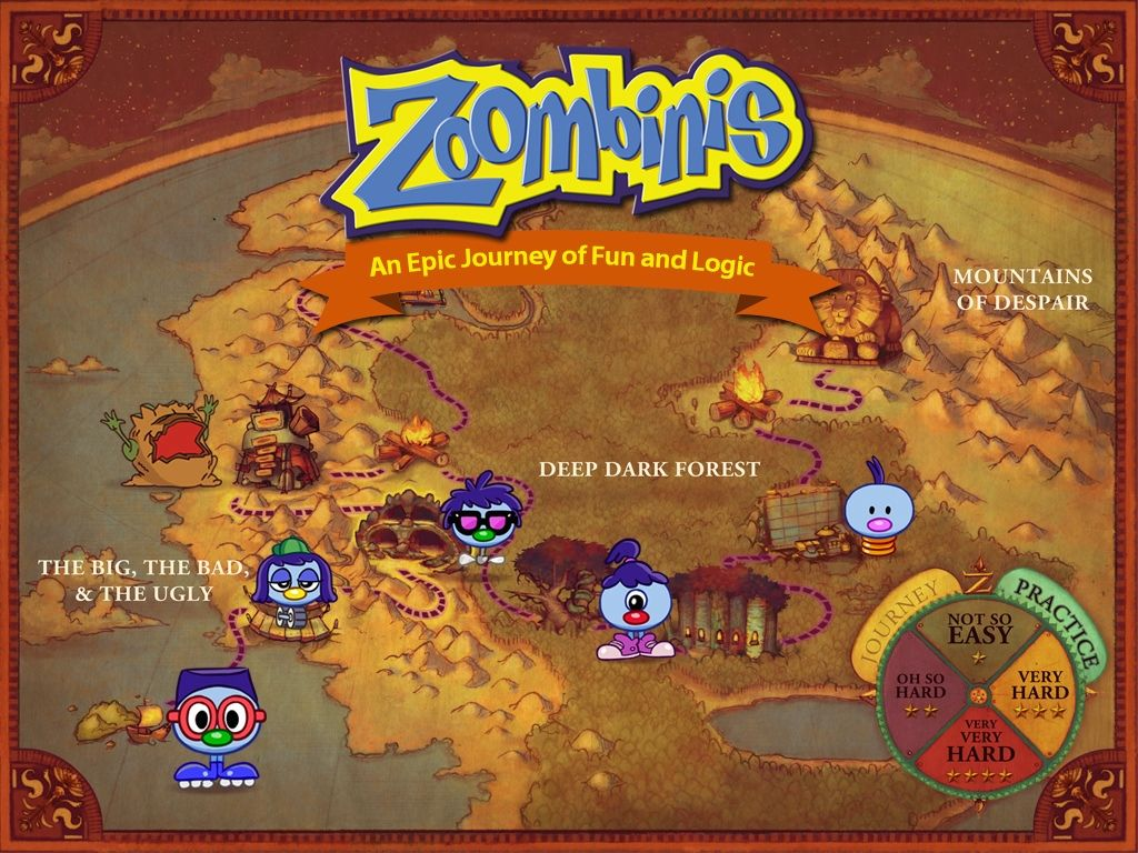 Zoombinis's video poster Adventure games, Kickstarter