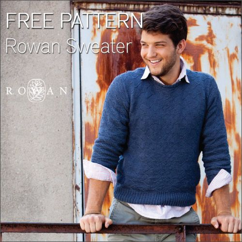 Free Pattern Rowan Sweater For Men Knitting Pinterest Rowan