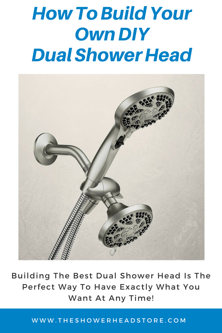 How To Build Your Own Diy Dual Shower Head Dual Shower Dual Shower Heads Shower Heads
