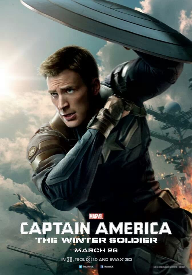 New Posters Alien Abduction The Double 3 Days To Kill And More Films Marvel Marvel Captain America Le Soldat De L Hiver