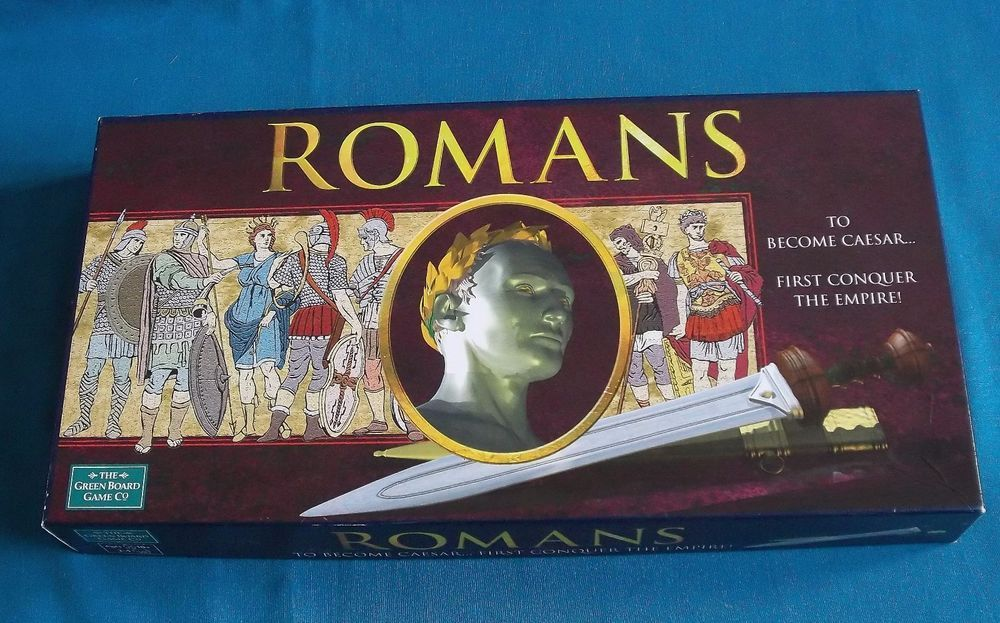 Romans Board Game History Strategy Complete Set 2 to 4 Players ...
