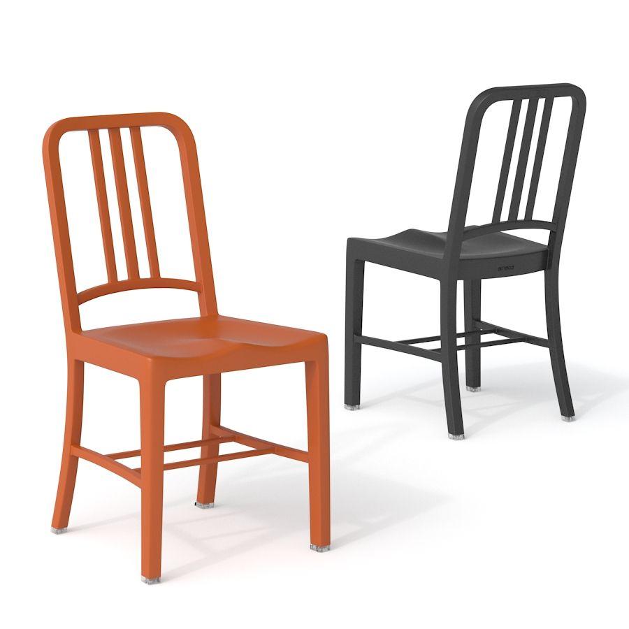 EMECO   111 Navy Chair 0
