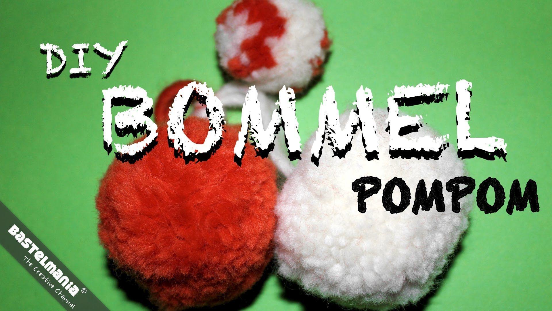 bommel pompon bobble diy pompom craft. Black Bedroom Furniture Sets. Home Design Ideas