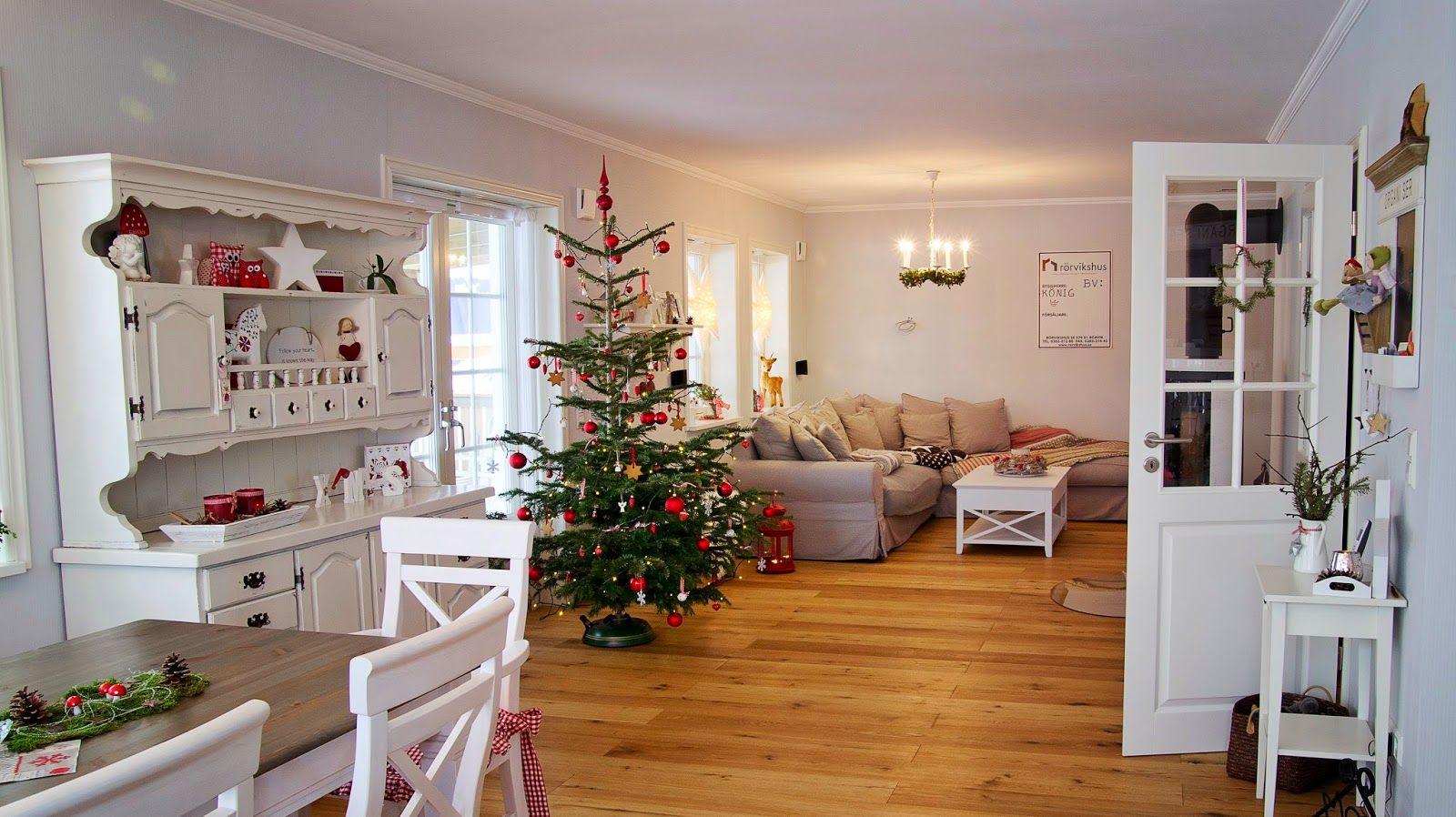 kleine lotta unser schwedenhaus red christmas pinterest schwedenhaus wohnzimmer und wohnen. Black Bedroom Furniture Sets. Home Design Ideas