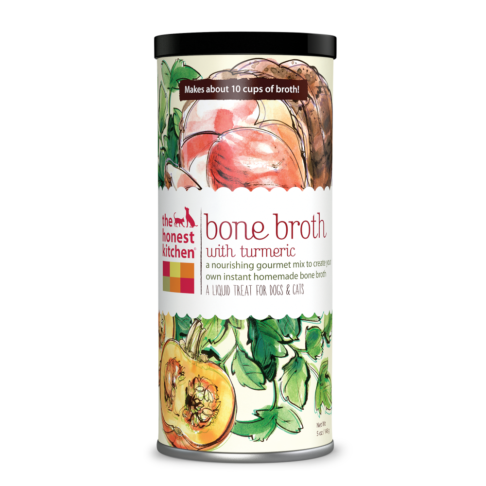 The Honest Kitchen Beef Bone Broth with Turmeric Spice