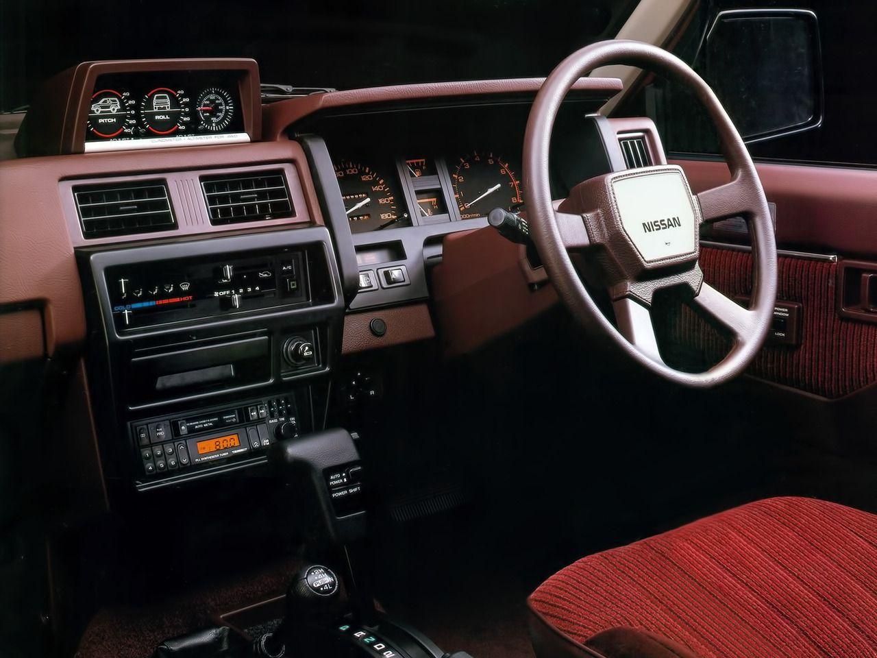 1987 Nissan Terrano Auto Interior Nissan Terrano