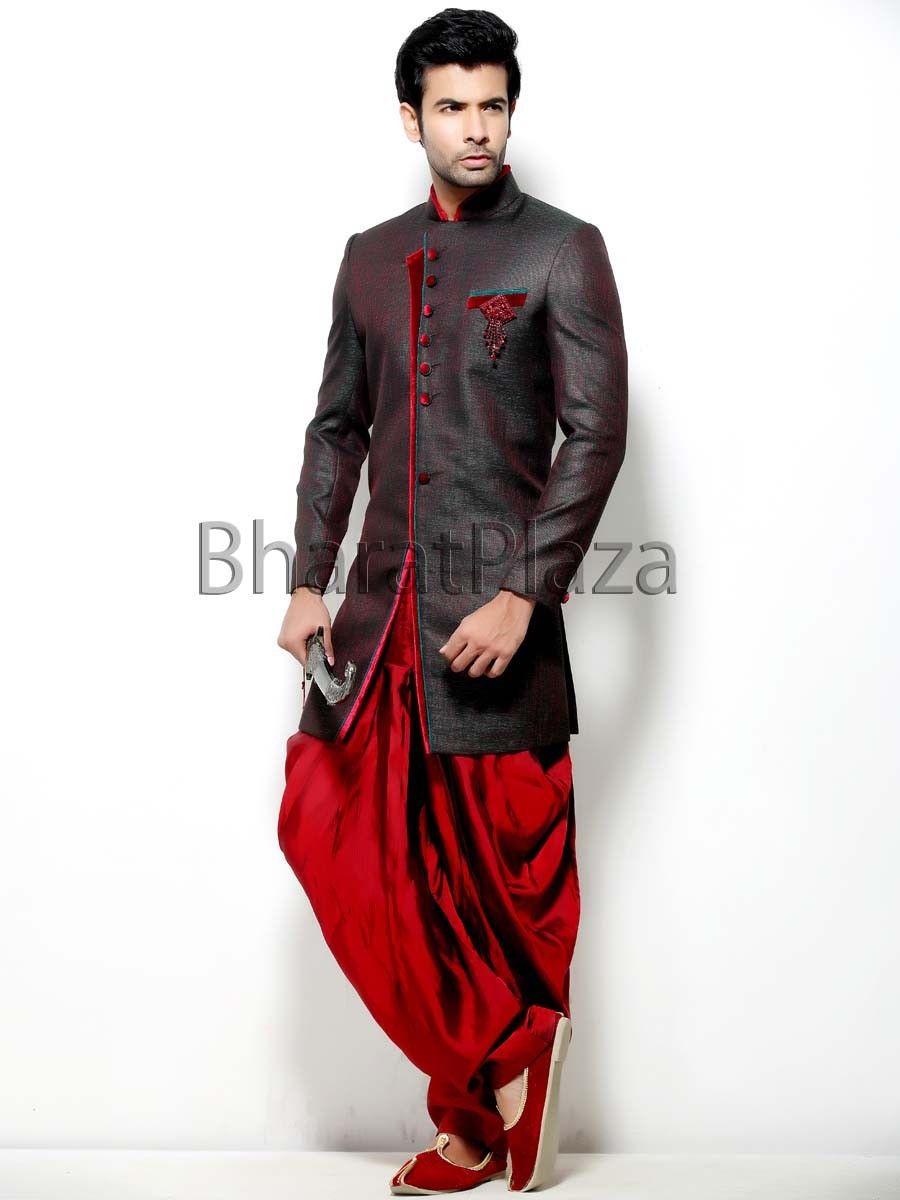 e464dcbae6 Antique Patiala Sherwani Patiala, Churidar, Indian Wedding Outfits, Groom  Attire, Sherwani,