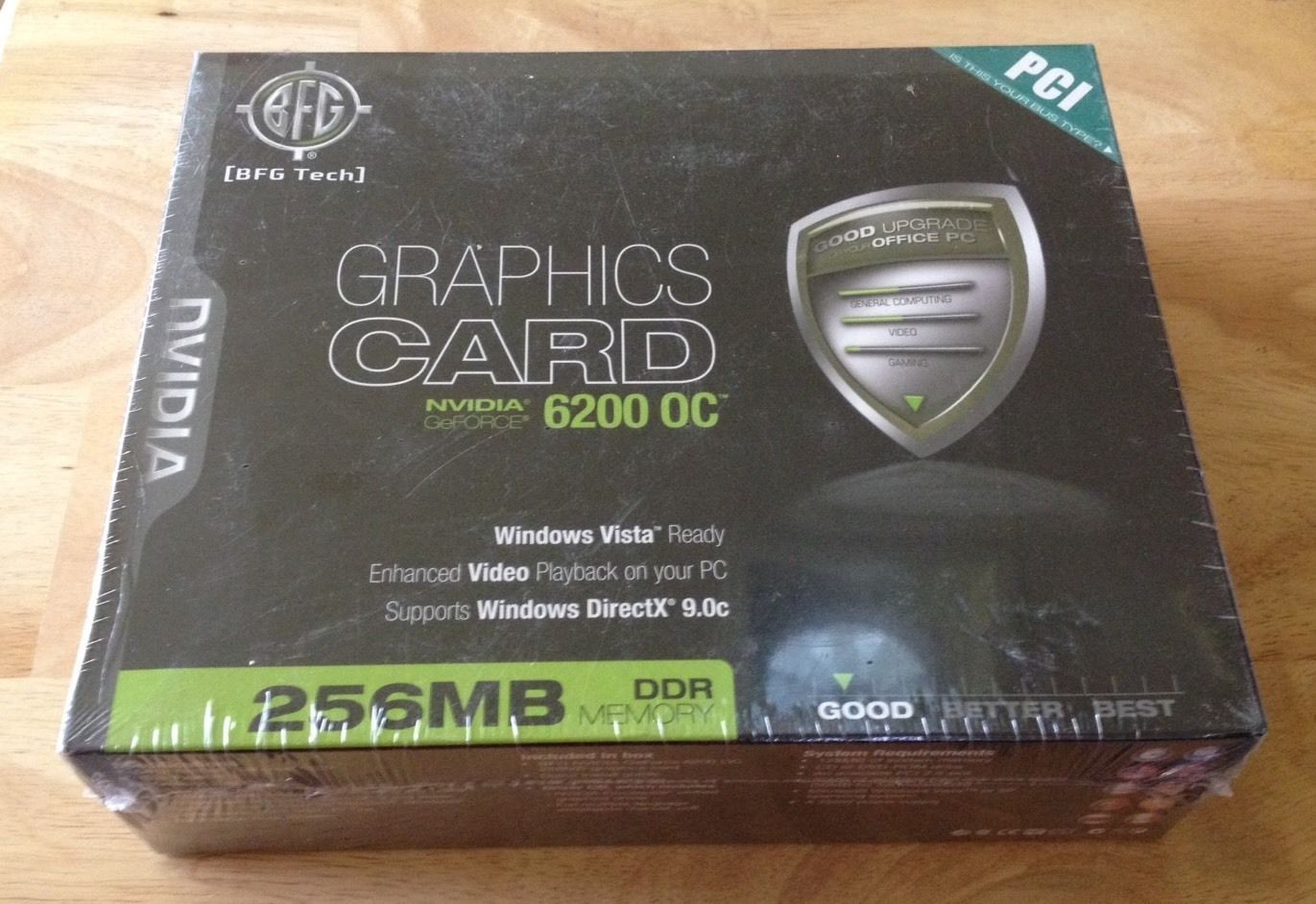 BFG GEFORCE 6200 OC DESCARGAR CONTROLADOR