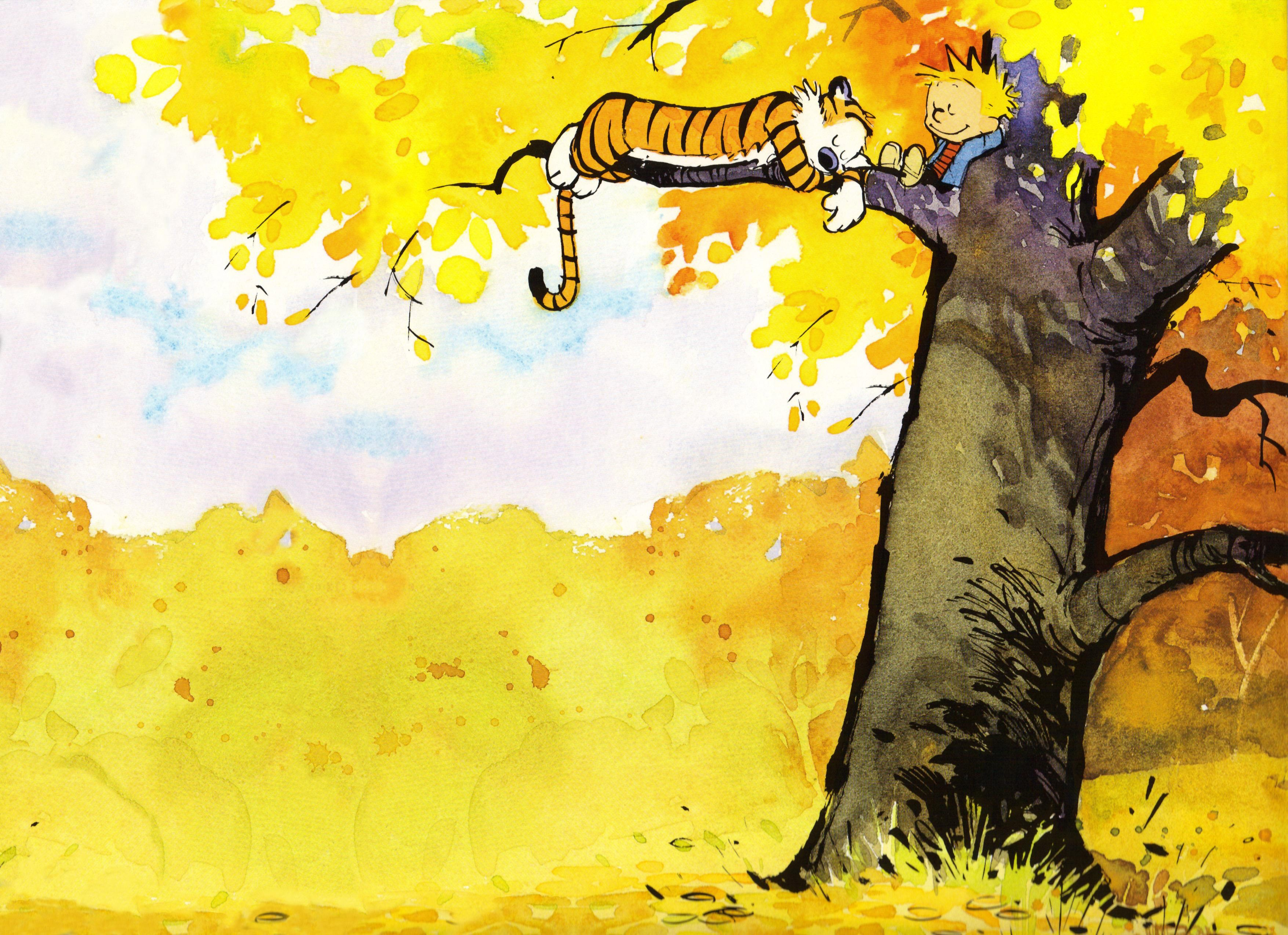 Workplace Lessons from Calvin and Hobbes | Cartooning | Pinterest ...