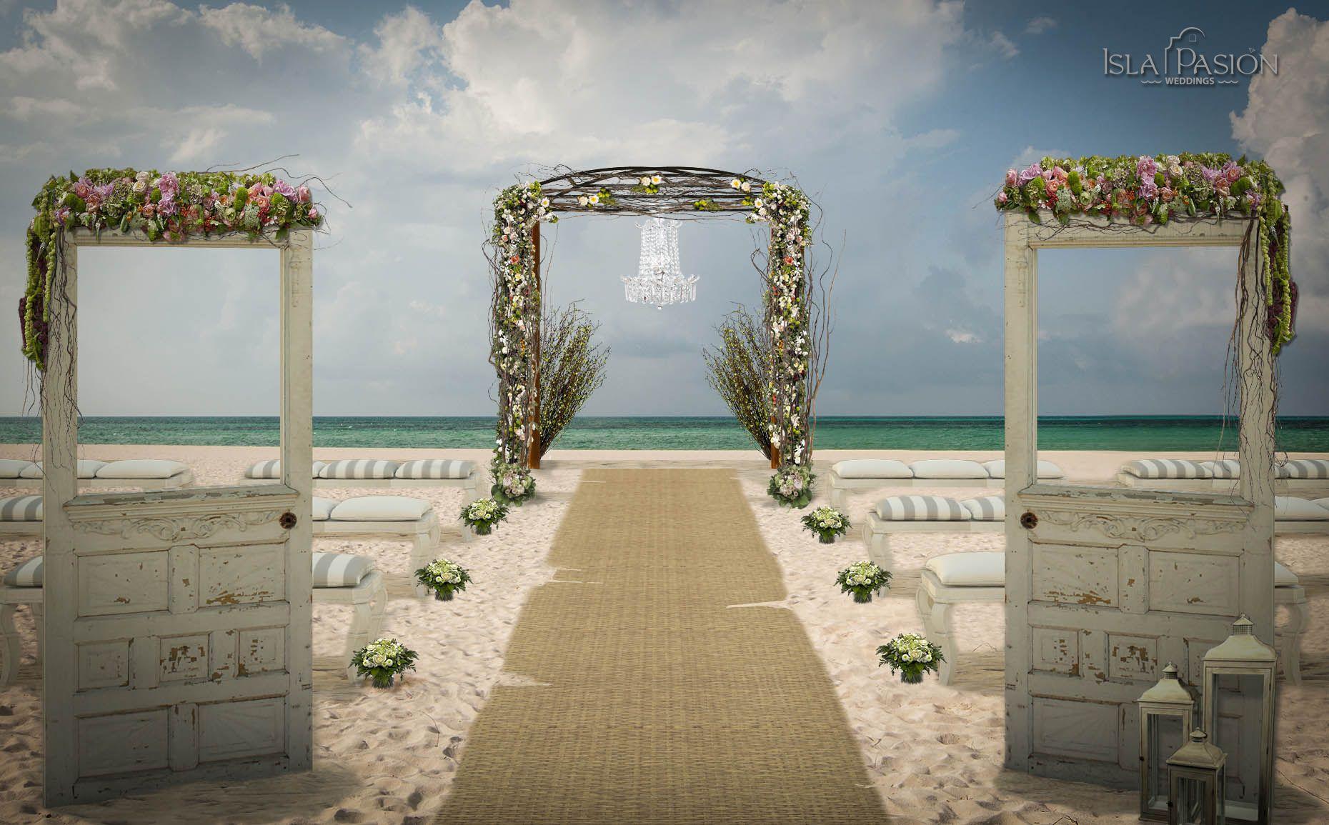 Beach wedding gazebo doors gazebo wedding gazebo