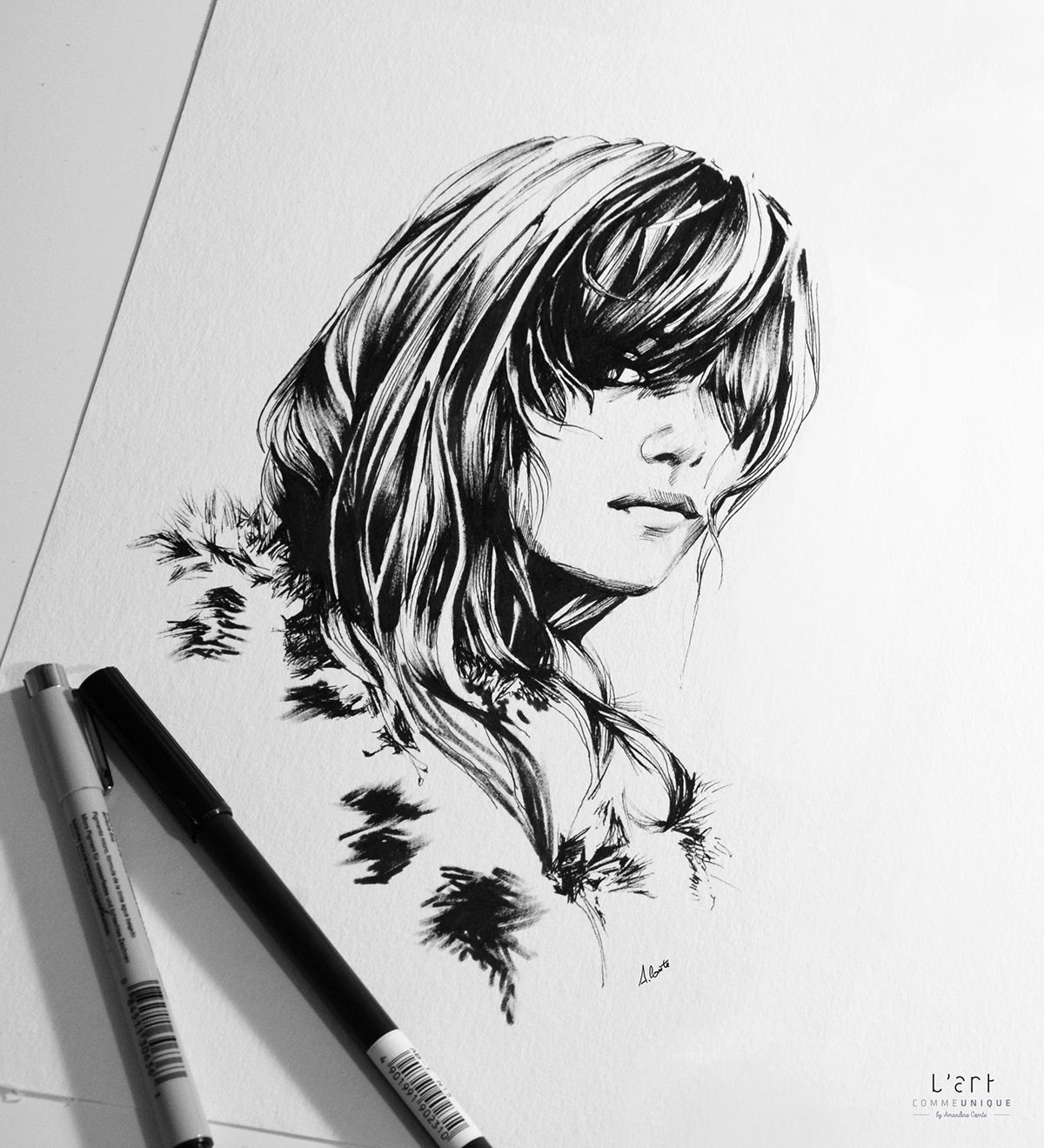 Ink & Pencil on Behance