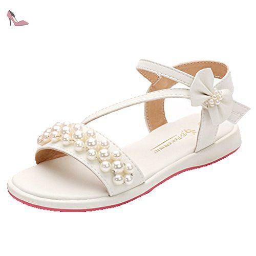 OHmais Chaussure Femme c/ér/émonie Ballerines Femme /à Bride F/ête Demoiselle dhonneur Mariage Escarpin Plat