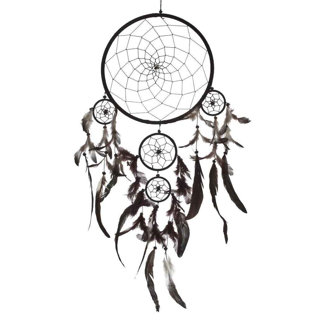 Dreamcatcher outline images galleries for Materials to make a dreamcatcher