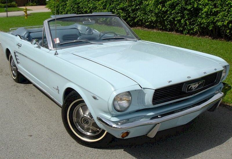 Arcadian Blue 1966 Mustang Convertible Mustang Convertible Classy Cars Old Vintage Cars