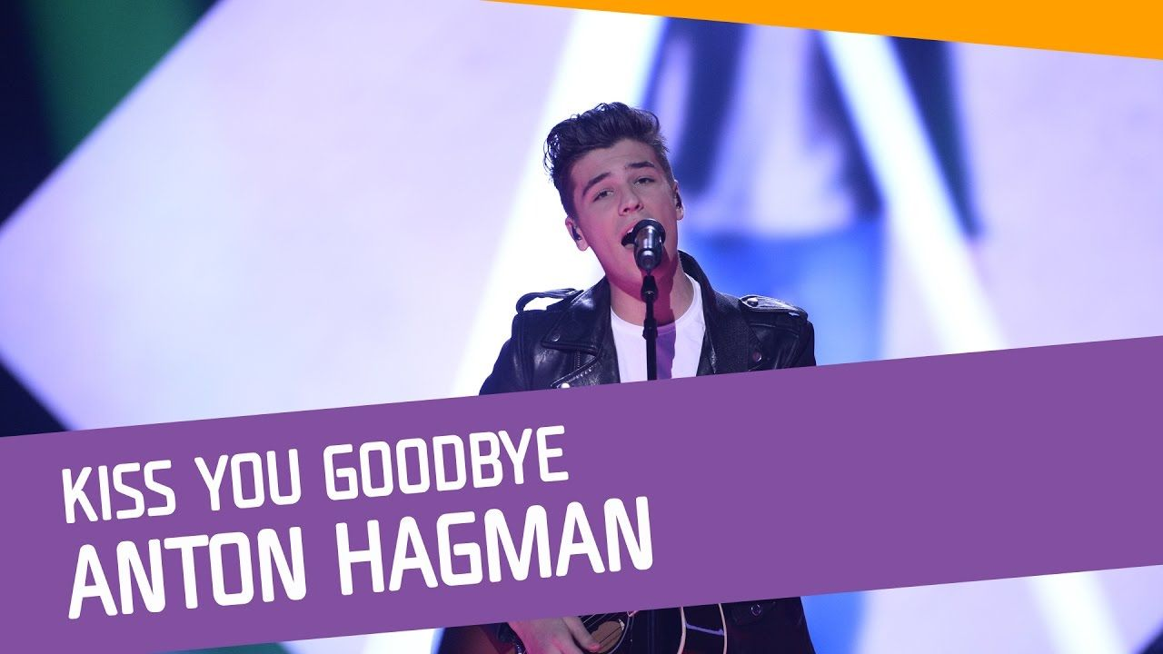 Anton Hagman-Kiss You Goodbye.  I thought that Loreen will at the final, but Anton passed at the final. Maybe it s right.