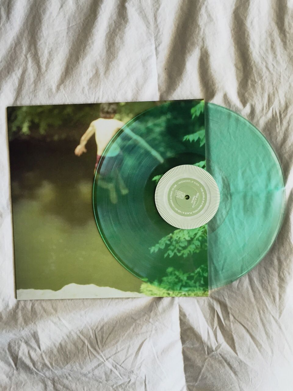 The World Is A Beautiful Place I Am No Longer Afraid To Die Whenever If Ever Lp From Lauren Records Vinyl Music Vinyl Records Vintage Music