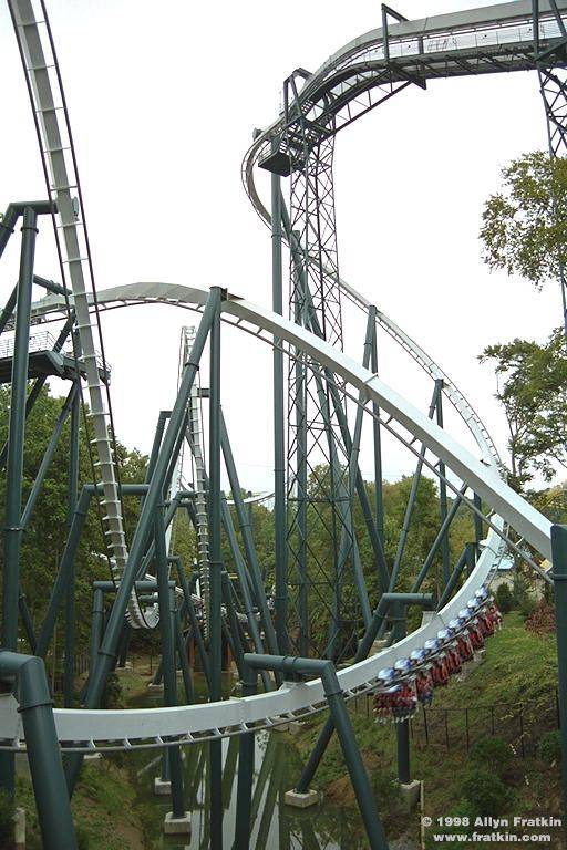 Alpengeist Roller Coaster
