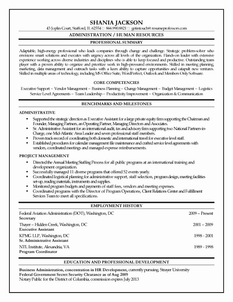 Human resources manager resume summary fresh hr