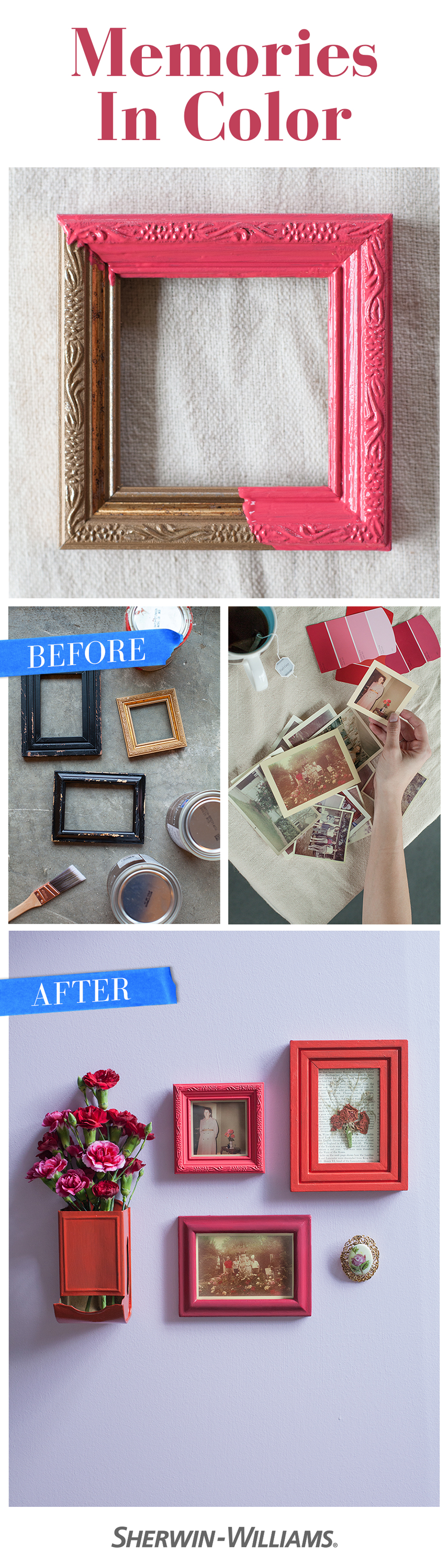 Learn how to honor your vintage family photos with the presentation ...