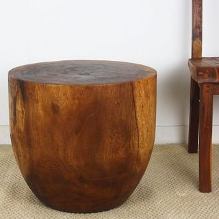 Hand Carved Rubbed Mocha Oil 20 Inches High X 15 Inch Dia Mango Merlot Wood End Table Thailand 17197072 Ping Top Rated