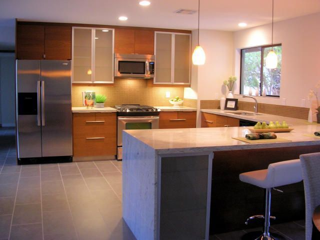 Home Renovations Before And After Before After Real Estate Photo Cool Kitchen Remodel Phoenix Ideas