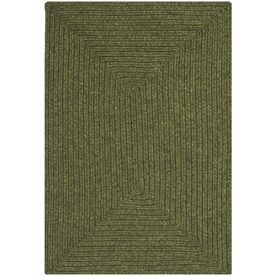 Safavieh Braided Lexington Green Indoor Handcrafted Runner Common 3 X 5 Actual 2 5 Ft W X 5 Ft L Braided Rugs Area Rugs Throw Rugs
