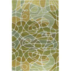 Photo of benuta flat weave carpet Stay Green 120×180 cm – Modern carpet for living room benuta