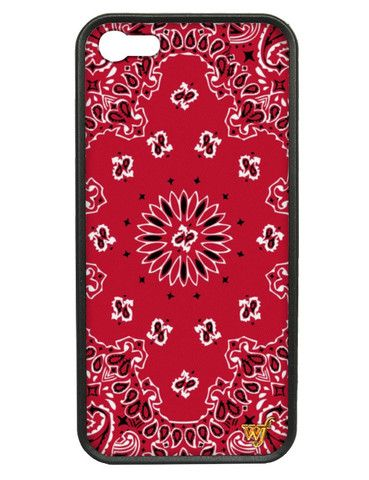 new concept 3cff6 de896 Bandana iPhone 5/5s Case- Wildflower Cases- $35.00 | Phone cases ...