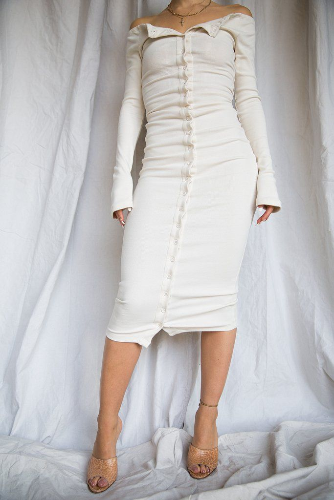 Gaby Dress Ivory The Line By K
