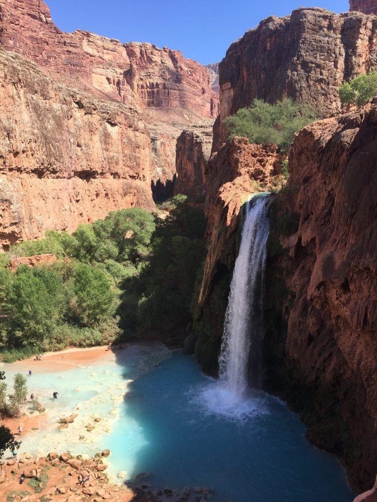 A Guide To Exploring Havasupai Falls Trip To Grand Canyon Havasu Falls Grand Canyon Vacation