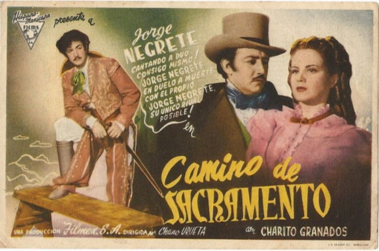 Camino de sacramento 1945 de chano urueta tt0218867