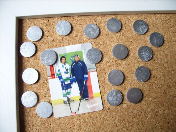 Silver Wooden Push Pins or Magnets, Decorative Silver Tacks ...