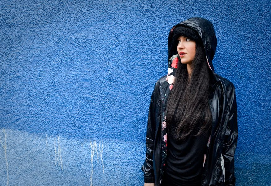 Laura Lee from Khruangbin for Adidas, 2014  By Tamsin Isaacs