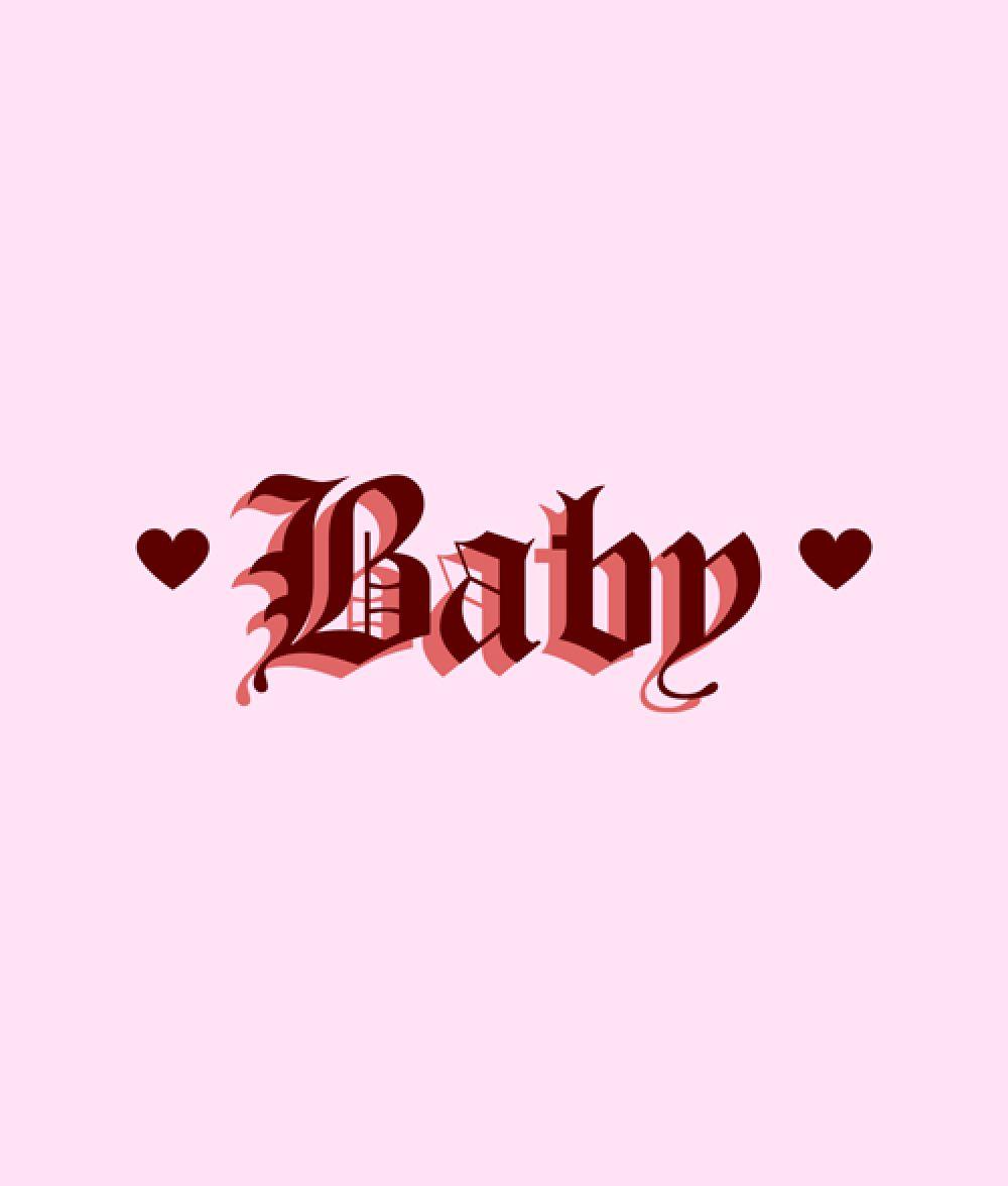 Baby t shirt heart in 2020 mood wallpaper aesthetic