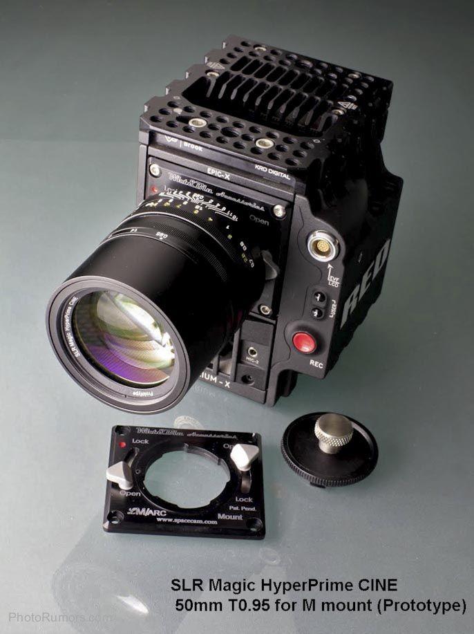 Slr Magic Hyperprime Cine 50mm T0 95 Lens Slr Lens 50mm