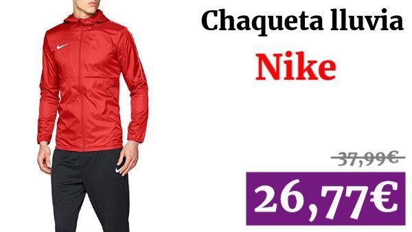 Nike park18 Rain Jacket Chaqueta de Lluvia ✏ #vadegangas