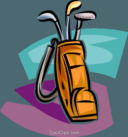 golf vector clipart of a golf bag with clubs golf pinterest rh pinterest com Animated Golf Bag Cartoon Golf Bag