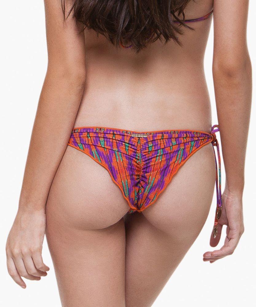 96eddc78bc4 SOFIA+BY+ViX+ALIAGA+ORANGE+RIPPLE+T/S+BRAZILIAN+SCRUNCH+CHEEKY+BIKINI +BOTTOM+#SofiabyViX+#BikiniBottom