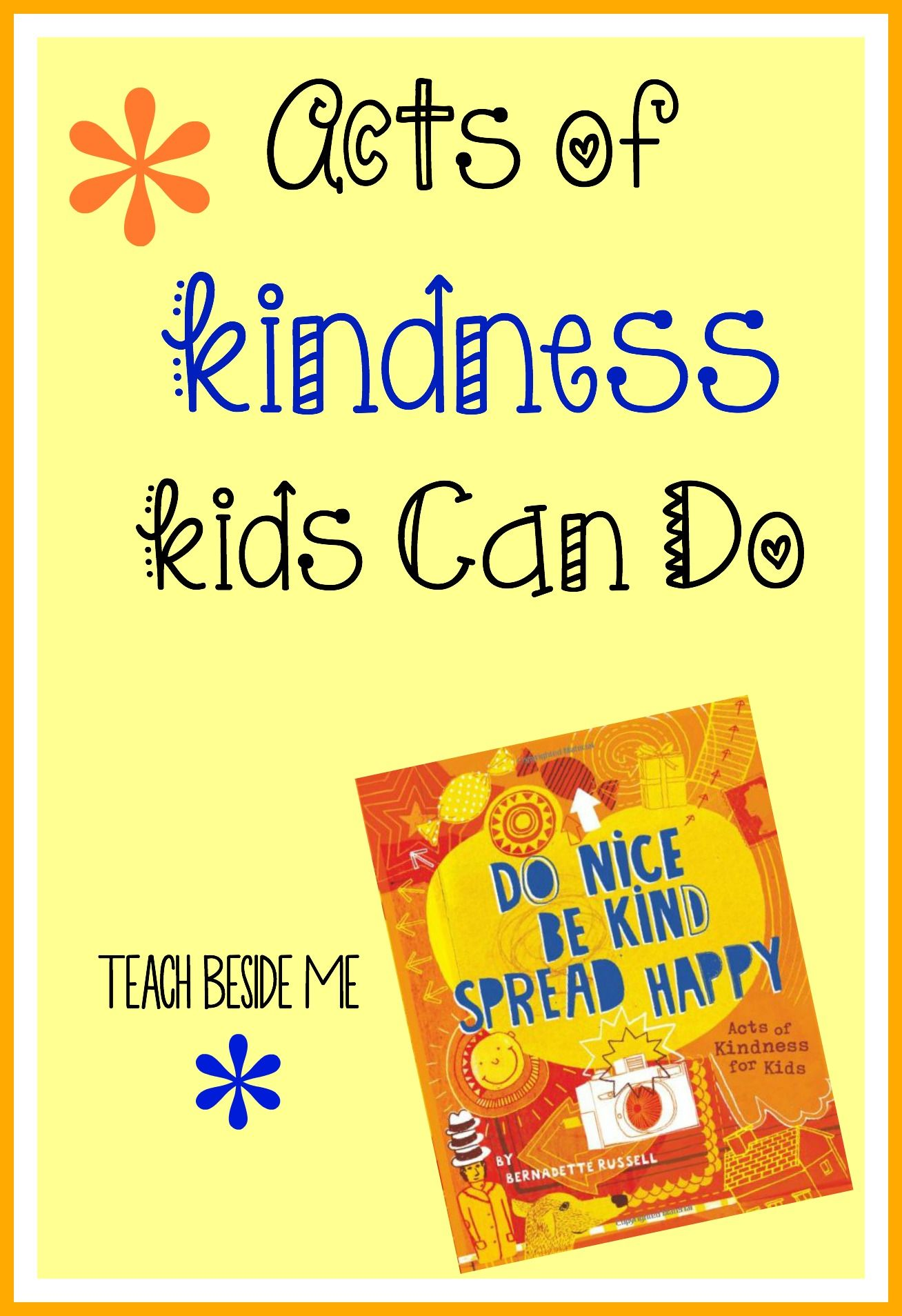 Acts Of Kindness Kids Can Do