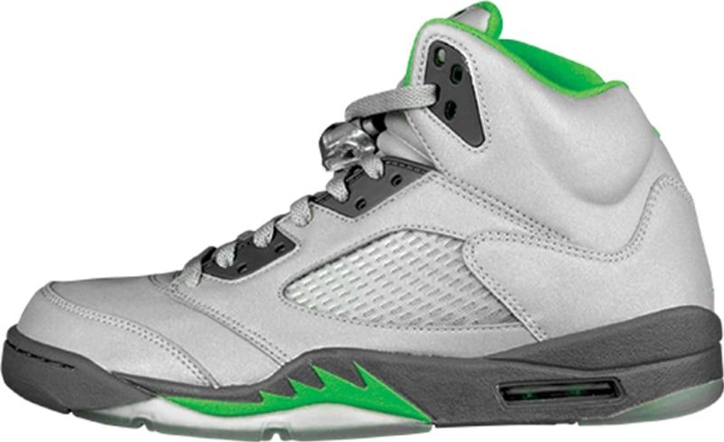 pretty nice 3caa9 2c127 Air Jordan 5 Retro  Green Bean  - Air Jordan 5  The Definitive Guide to  Colorways   Sole Collector