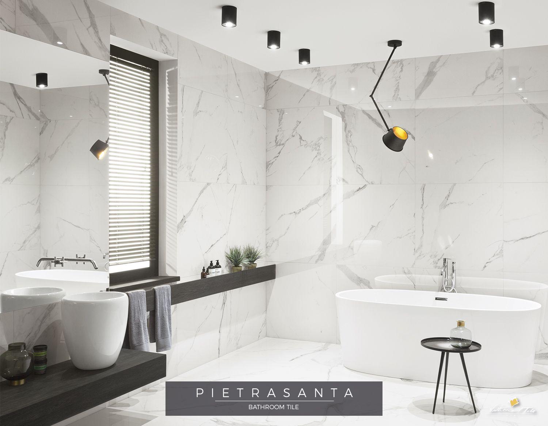 Porcelain Tile That Looks Like Carrara Marble Porcelain Tile Bathroom Marble Look Tile Porcelain Flooring