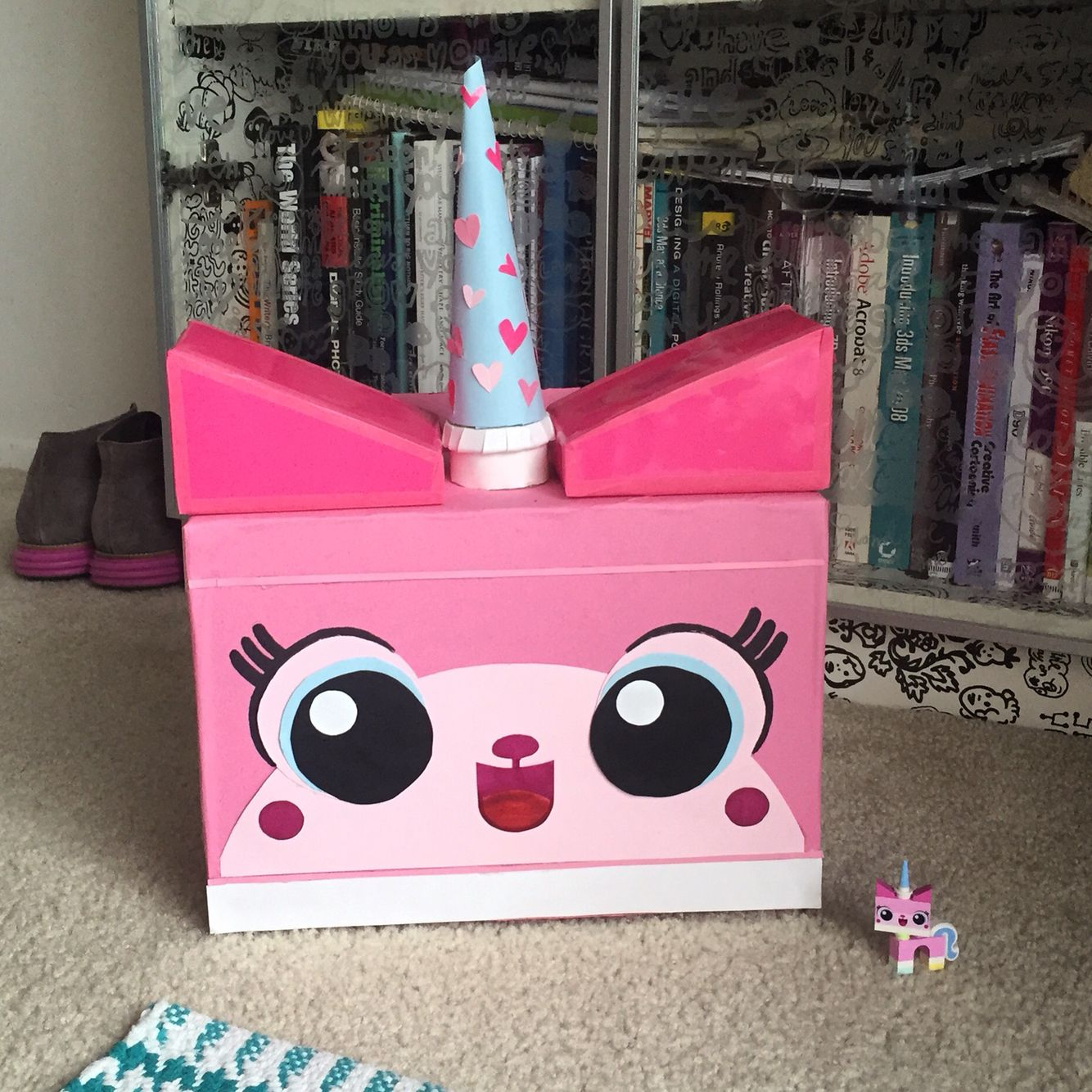 Lego Unikitty Valentine S Box Made From A Costco Sized