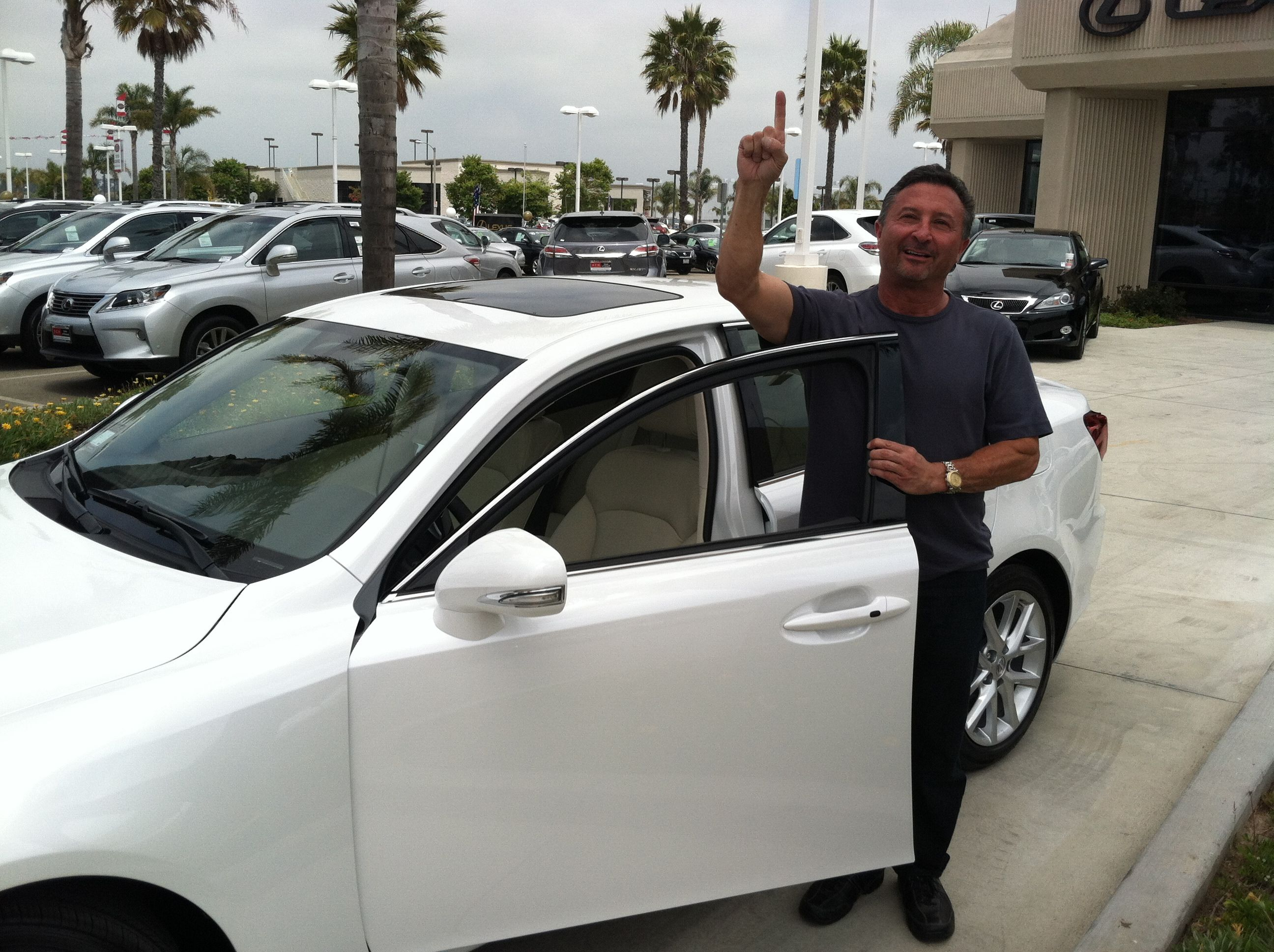 Congrats Jon, for earning his Lexus bonus from Nerium!