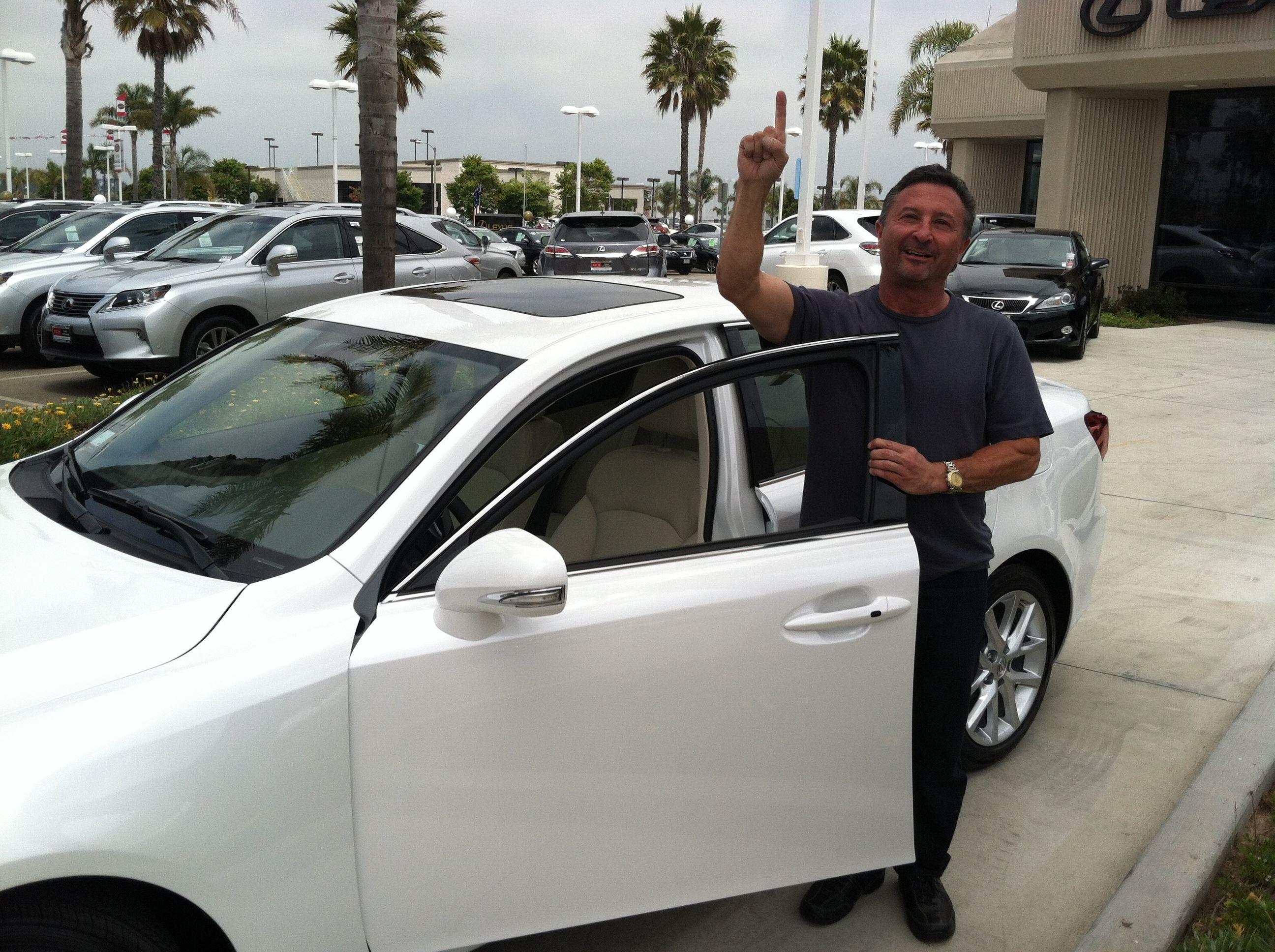 Congrats Jon, for earning his Lexus bonus from Nerium!