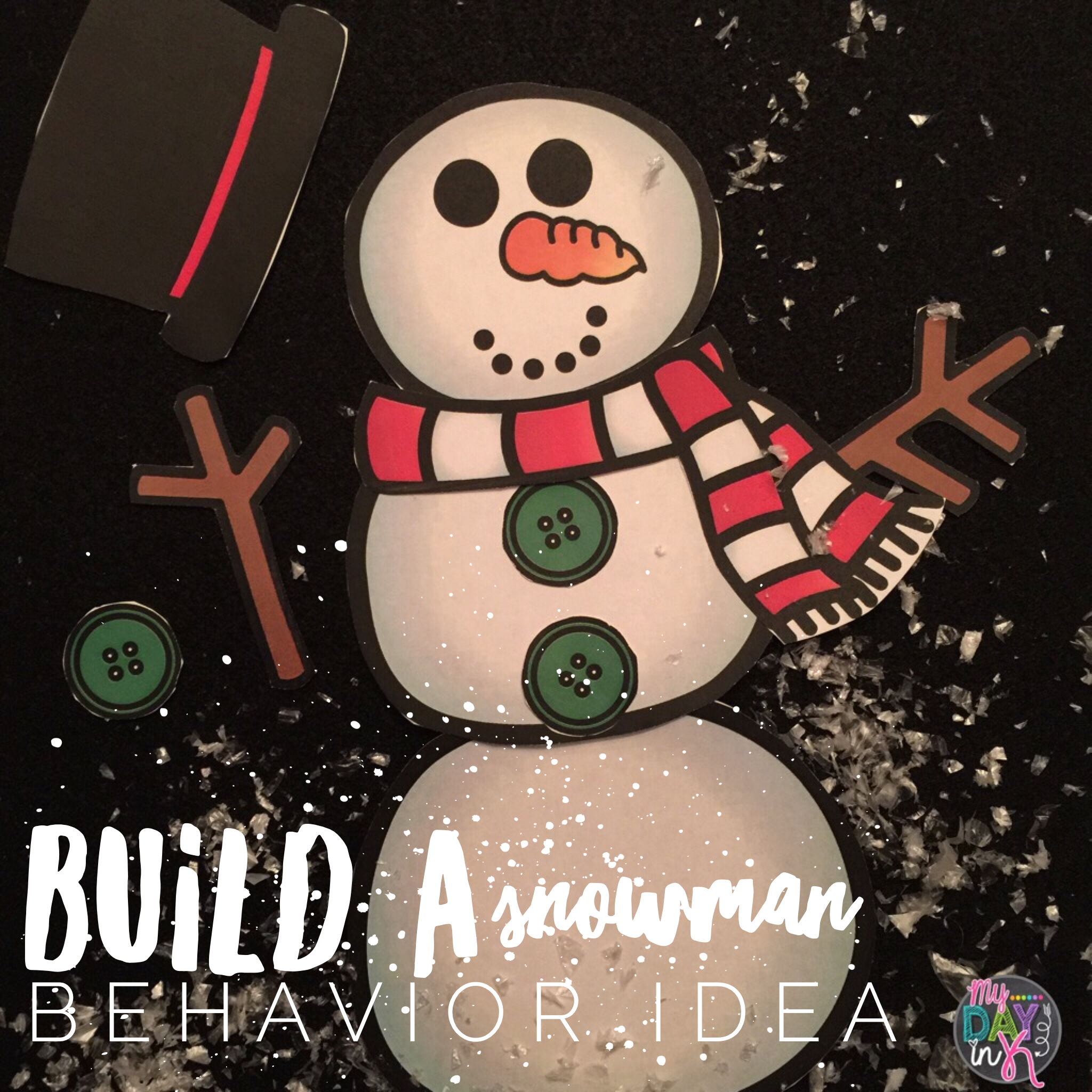 Build A Snowman Is A Fun Behavior Idea To Spotlight